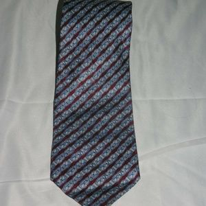 Stefano Ricci Ribbon Bow Striped Long Silk Tie